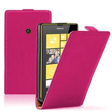 Lot REVENDEUR Etui Coque Housse PU Vrai Rabat ROSE Nokia Lumia 520/ 525/ 521