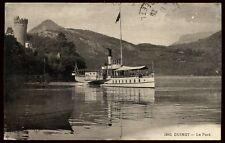74 DUINGT le port 1928  (37)