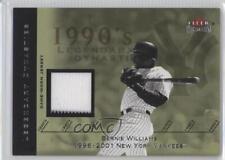 2002 Fleer Premium Legendary Dynasties Game-Used #BEWI Bernie Williams Card