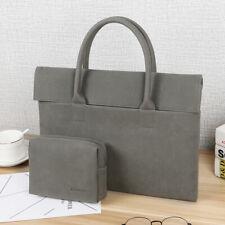 "Laptop Handbag Bag Notebook Sleeve Case Faux Suede 13""14""15""15.6"" PC Tote Pouch"