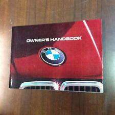 BMW E30 316 318 320 325 324td Handbook Manual