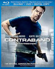 Contraband (Blu-ray/DVD, 2012, Canadian)