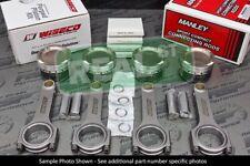 Wiseco Pistons Manley Rods B18A B18B B20B B20Z 81.25mm 9.8:1