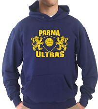 Felpa Cappuccio KJ1794 Stemma Ultras Parma Support Local Team