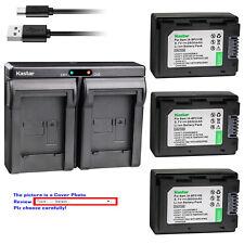Kastar Battery Dual Charger for Samsung IA-BP210E IA-BP420E & Samsung HMX-H200
