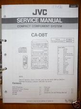 Service-Manual per JVC ca-d8t HIFI-SYSTEM, ORIGINALE