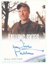 "WILL PATTON ""CAPTAIN WEAVER AUTOGRAPH CARD"" FALLING SKIES SEASON 1"