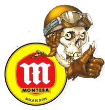 Sticker MONTESA right skull droit