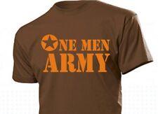 Tee-shirt US ARMY FR une homme armée FR ALLIED STAR NAVY SEALS PARACHUTISTE USMC