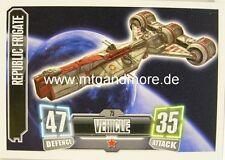 Republic Frigate #075 - Force Attax Serie 2