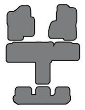 00-02 Suburban/Yukon XL-3 Row Custom-Fit Carpet Floor Mat Set- 2nd Row Captains