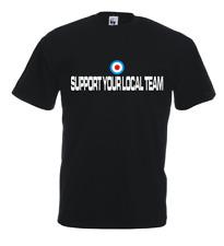 Maglia Support Local Team U22_J T-shirt cotone Hooligans Cappello casual Mods