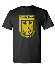 GERMAN SOCCER CREST - football deutschland - Cotton Unisex T-Shirt