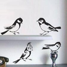 Sticker Décoration Murale, Vitres... Planche 4 Oiseaux ( 20x20 cm à 30x30 cm)