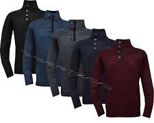 Parte Superior Suéter De Invierno newsweater Botones S-XXL
