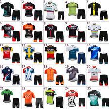 2019 Mens Cycling Jersey And Shorts Sets Cycling Clothing Bicycle Short Sleeve