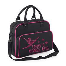 Personalised Name Dance Bag Children's Disco Bags Gym Bags Custom Girls Jazz