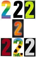 Self Adhesive Weatherproof Wheelie Bin Numbers 17cm High Visibility Number_2