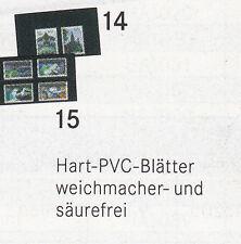 Lindner klemmkarten, formato: 11,5 x 6,6 cm en el 100er Pack 1 o 2 rayas