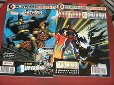 SUPERMAN & BATMAN-COMPLETA N°1/2-ED. PLAY PRESS**