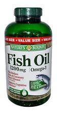 Nature Bounty  Fish Oil 1200mg Omega-3 Ec Sgc 60ct