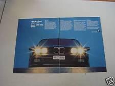 advertising Pubblicità 1985 BMW 324d 324 d