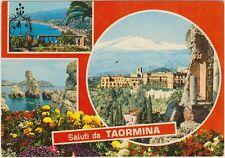 SALUTI DA TAORMINA - VEDUTINE (MESSINA) 1982