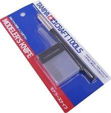 Tamiya #74040 Modeler's Knife w/ 25pcs Blades Kit Craft Model Tools NIB Cutter