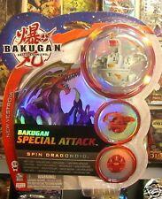 Bakugan Brawlers Spin Dragonoid Grigio Special Attack