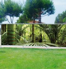 Brise vue déco imprimé: Bambous 3626