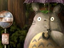 My Neighbor Totoro Beautiful Tonari no Anime Huge Giant Print POSTER Affiche