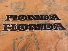 Honda CB 750 CB750 Four K0  Sandcast Fuel Tank Emblem Badge Set  New Tankembleme