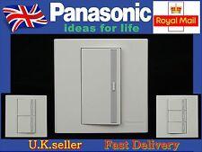 Panasonic Marco Series light wall switch1/2/3 Gang 1 Way Screwless