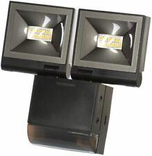 Timeguard Compact Floodlight Single or Twin Flood Std PIR Black or White
