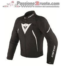 Jacket moto Dainese Avro D2 Tex black white