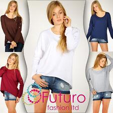 SEXY & Trendy Maglione con tasca & bottoni maglione camicia taglia 2.4-3.7m970