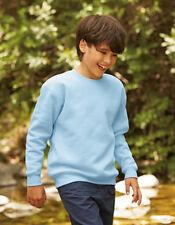 Fruit of the Loom Premium Set-In Sweat Sweatshirt Kinder 104 - 164 F324K (S)