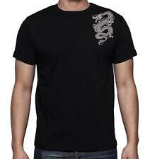 "NEW MENS PRINTED ""DRAGON"" TATTOO Cotton TEE Shirt Funny MMA HIP POP Dope T-SHIRT"