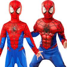 Ultimate Spider-Man Kids Fancy Dress World Book Day Superhero Childs Costume New