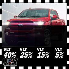 Uncut Window Roll Tint Film 5% 15% 25% 40% VLT In FT Feet Car Office Commercial