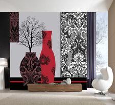 3D Albero Vaso 51 Parete Murale Foto Carta da parati immagine sfondo muro stampa