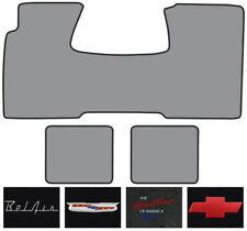 1955-1956 Chevrolet Bel Air Nomad 1 Front, 2 Rears Daytona Carpet Logo Floor Mat