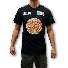Mexico Colorful Aztec Calendar Men's T-Shirt