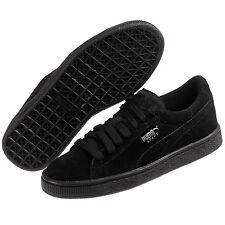 Puma Suede Junior GS 355110-52 Black Women Junior Shoes