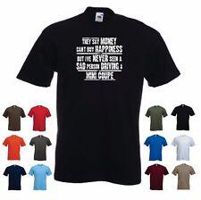 """Mini Coupe' - Herren Lustig Geschenk T-Shirt """"sagen Sie Geld allein macht nicht glücklich..."""""""