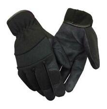 41e9e64a3290a Northstar Suede PU Palm Lightweight Work Gloves Unisex Fleece Lined Black  59BK