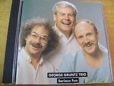 GEORGE GRUNTZ TRIO SERIOUS FUN CD ENJA F. AMBROSETTI