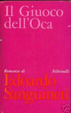 Edoardo Sanguineti = IL GIUOCO DELL'OCA = 1A EDIZ.