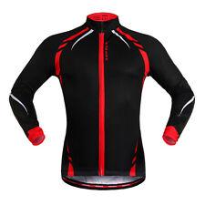 Winter Cycling Jersey Thermal Fleece Bike Coat Riding MTB Unisex Jacket Size M