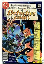 DETECTIVE COMICS # 500 DC